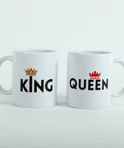 King Queen Coffee Mug