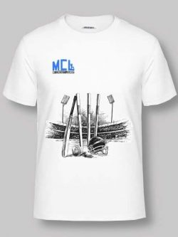 T Shirt - Cricket Ground & Stumps