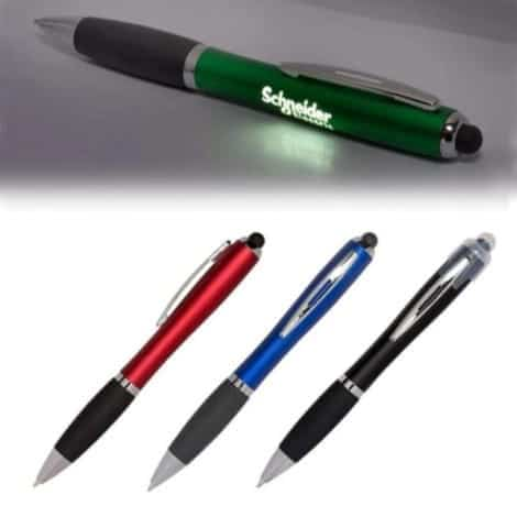 LED Light Pen - Customized name and logo