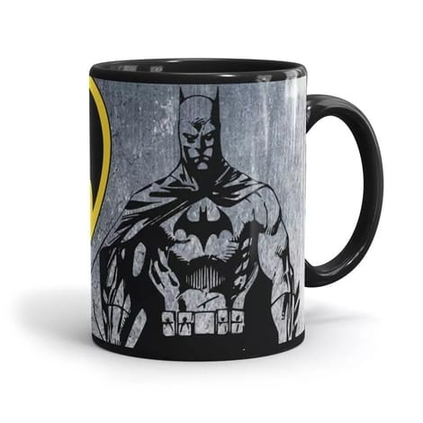 Batman Classic Coffee Mug back