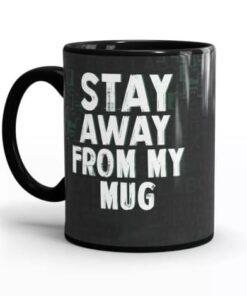 Dexter Coffee Mug - Back