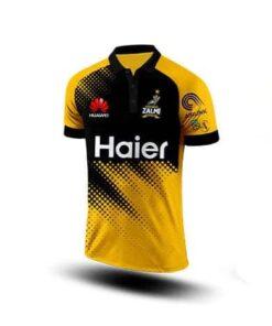 Peshawar Zalmi PSL shirt 2020 original JERSEY - front
