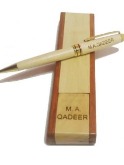 Wooden Engraved Pen