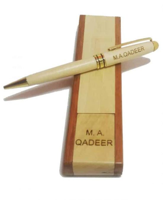 Wooden Engraved Pen
