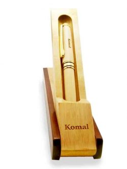 Wooden Engraved Pen personalized