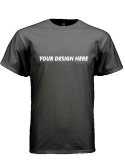 Customized T-shirt Black