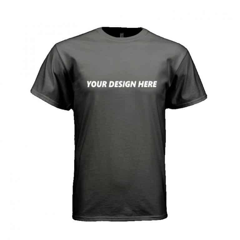 Customized T-shirt Black