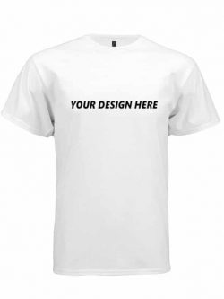 Customized T-shirt White