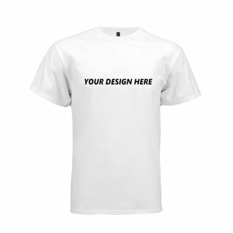 Customized T-shirt White