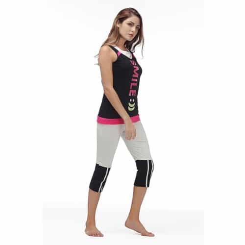 Womens Pajama Set - Sleeveless Sleepwear - 3