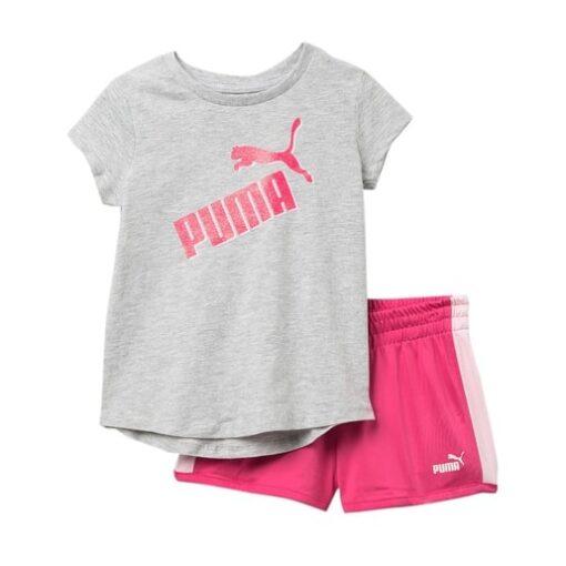 Girls Shorts & T-Shirt - Puma