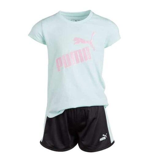 Girls T-Shirt & Shorts Set