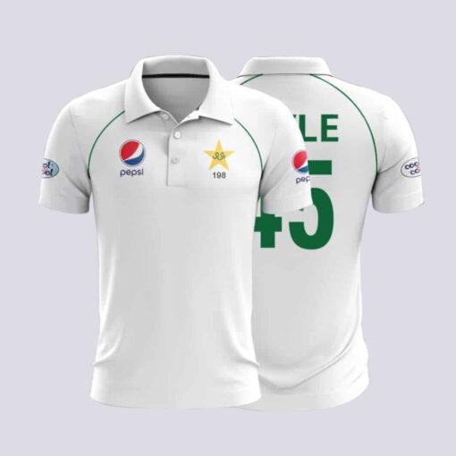 Test Kit Shirt Pakistan Cricket Team Jersey