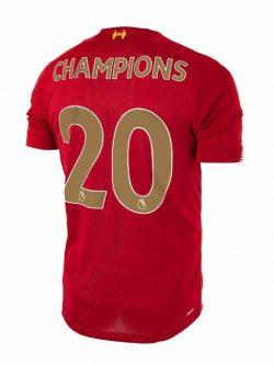Liverpool Jersey - LFC Shirt Champions 19-20 back
