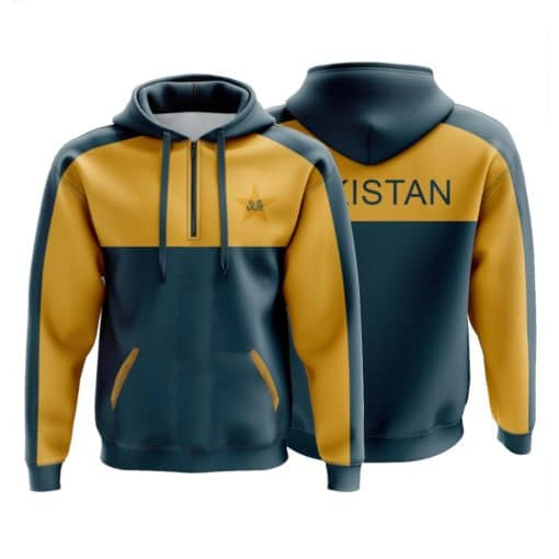Training Hoodie - Pakistan Cricket Team - Front Back