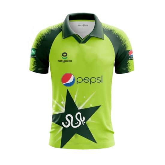 Pakistan T20 Kit NEW - season 2021