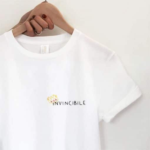 Invincible Hand Embroidery T-shirt