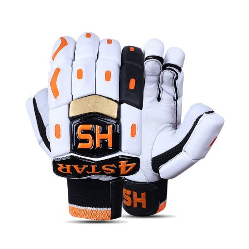 HS 4 Star Batting Gloves Pair for Cricket