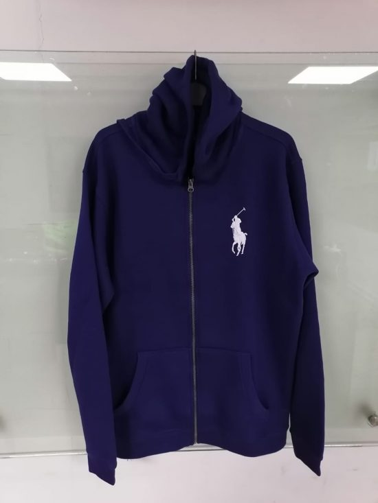 Polo Ralph Lauren Men's Hoodie - Blue mockup