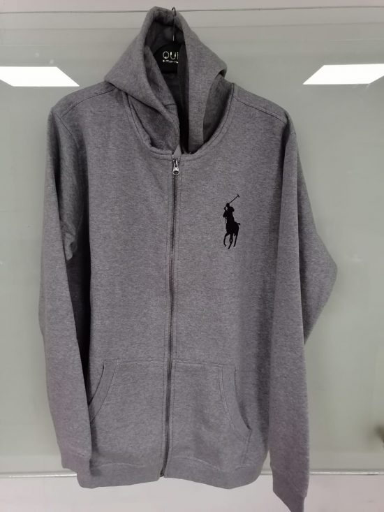 Polo Ralph Lauren Men's Hoodie - Grey mockup