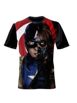 Captain America - Kids Shirt