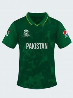 Pakistan T20 Cricket World Cup 2021 Jersey